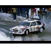 Lancia Delta S4  Rally Montecarlo 1986 With Pure Engine Sounds