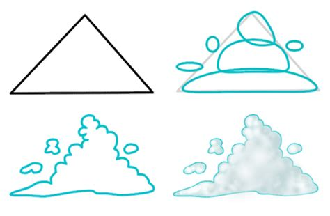 drawings of clouds simple how to draw clouds