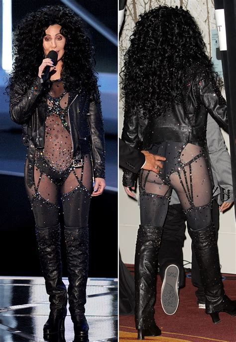Cher Wardrobe by Cher At Vmas Presents Gaga In Turn Back Time