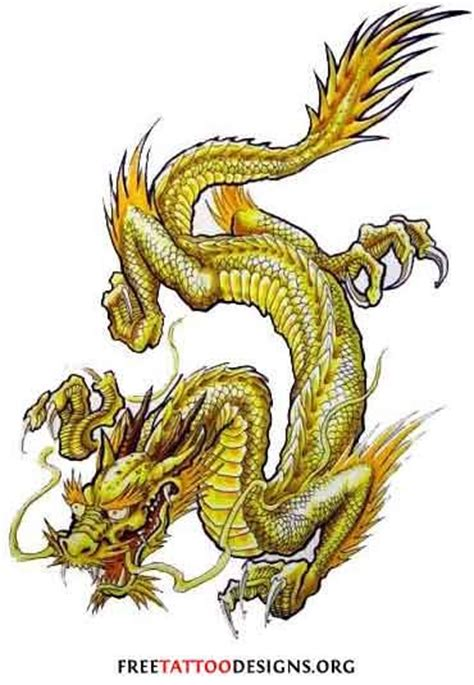 tattoo golden dragon golden dragon tattoos pinterest