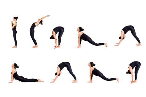 imagenes yoga posturas posturas de yoga para saludar al sol