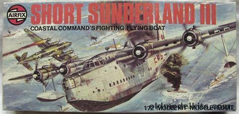 sunderland flying boat model kit airfix 1 72 short sunderland iii flying boat 06001 1