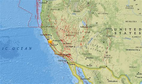 san jose earthquake map usgs california earthquake san jose struck just days after 8 2