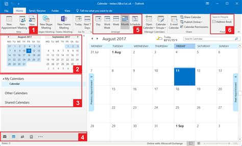 How To Outlook Calendar Getting Started With Calendar In Outlook 2016 For Windows