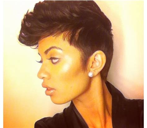 kinky pixie cuts kinky curly realxed extensions board short chic