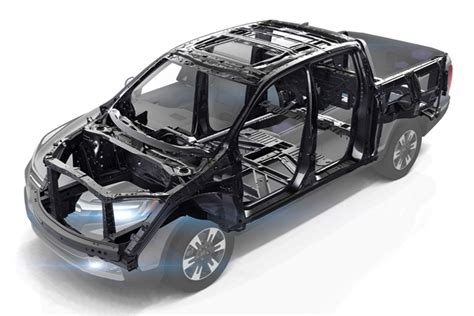 design of vehicle frame honda ridgeline s frame the untold story
