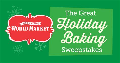 Baking Sweepstakes - sweepstakesmag weekly roundup november 20 november 26 2016