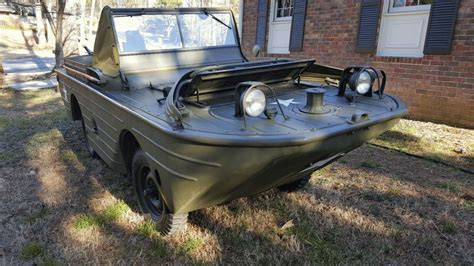 gpa hibious vehicle for sale 1942 ford gpa restored swimmer amphibious jeep for sale
