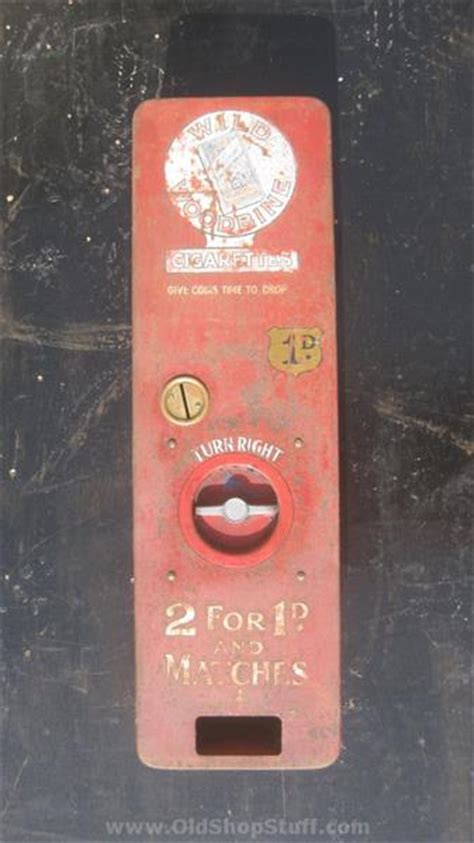 shop stuff  wills woodbine cigarette machine