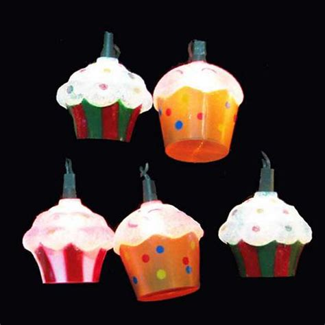 Ten Cupcakes Party String Lights 5w725 Www Lsplus Com Cupcake String Lights
