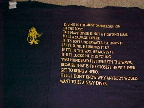 Work And Pray Tunik Navy us navy diver creed diving t shirts