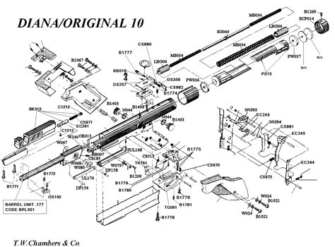 air rifle parts diagram beeman air rifles parts diagram pictures to pin on