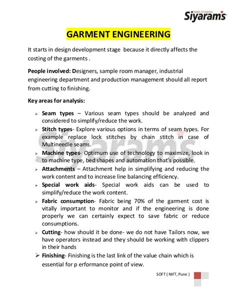 Garment Manufacturing Process From Fabric To Poduct Clothing Manufacturing Agreement Template