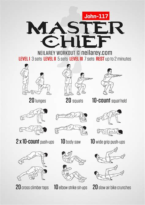 master chief workout what it works quads glutes lower