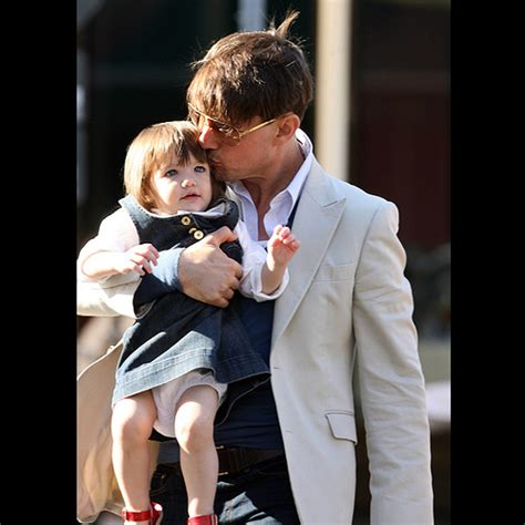 Tom Cruise Cuddling by Tom Cruise Can T Resist His While Out And