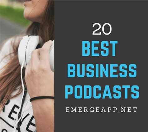 Top Mba Podcasts by 20 Best Business Podcasts For Entrepreneurs In 2017