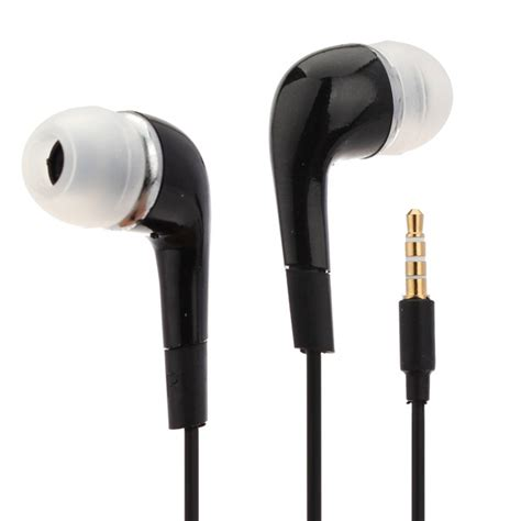 3 5mm In Ear Headset Black galaxy s3 in ear stereo headset black 3 5mm abcstore nl