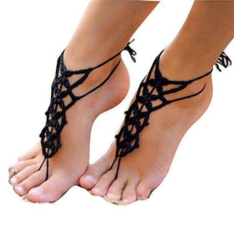 barefoot sandals crochet 60 best free crochet sandal patterns images on
