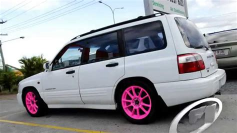 subaru forester 17 inch wheels subaru forester rolling fluro pink 17 inch ssw challenge