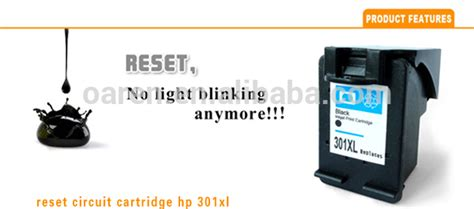 reset hp deskjet 1050 ink level reset chip for hp 301 black ink cartridge ch563ee