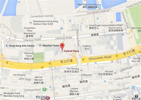 map  central plaza hong kong
