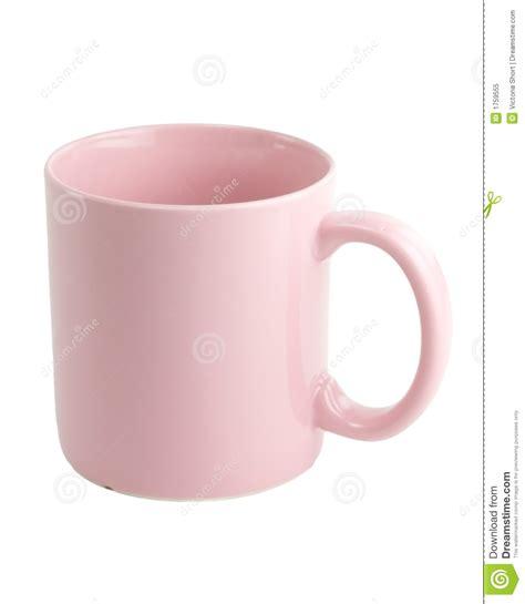 Pink Coffee Mug Royalty Free Stock Photo   Image: 1759555