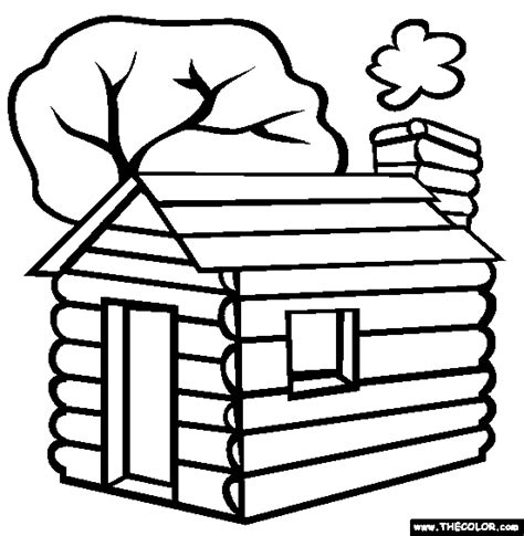 wood house coloring pages log cabin clip art clipart panda free clipart images