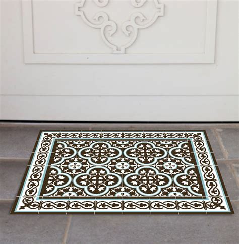 pvc door mat welcome mat tile rug rug pets mat