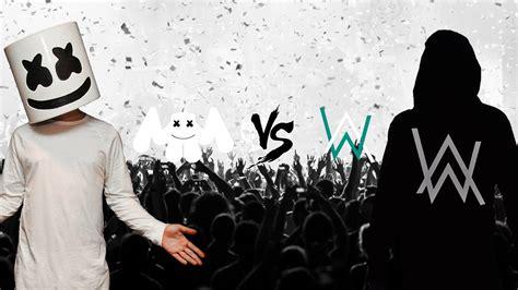 Alan Walker Vs Marshmello | alan walker vs marshmello siapa yang terbaik fr2days