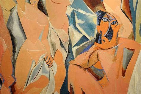 picasso paintings les demoiselles d avignon pablo picasso les demoiselles d avignon june july