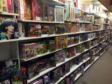 bookstore section crossword puzzle section at vidler s in east aurora new york
