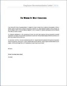 Recommendation Letter Maker Best 25 Employee Recommendation Letter Ideas On