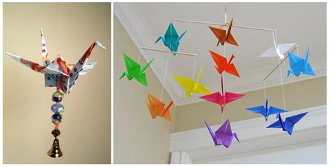 Rustic Baby Room Decor Colorful Love Folds For Your Home Decor Origami Sevenedges