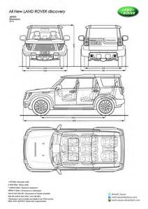 all new land rover discovery blueprints by hanif yayan on
