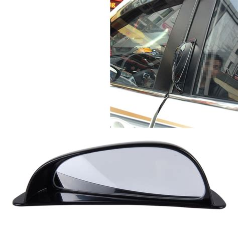 Blind Spot Car Mirror Wide Angle 3r 090 car blind spot rear view wide angle mirror black