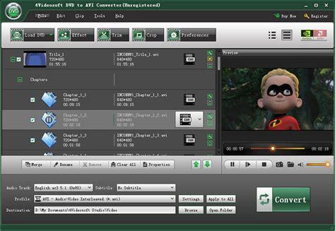 audio format on dvd dvd to avi converter convert dvd to avi file