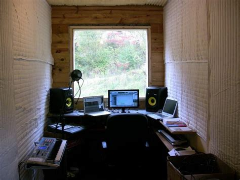 small music studio decoration home studio
