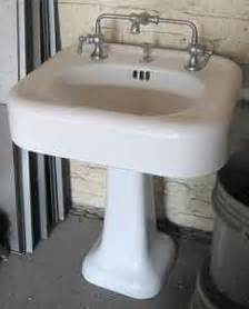 1920s Bathroom Vanity The Box House Vintage 1920s Kohler Sink With Mixing Faucet