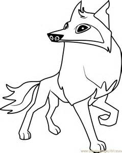 coloring pages of animal jam animal jam arctic wolf coloring pages sketch coloring page