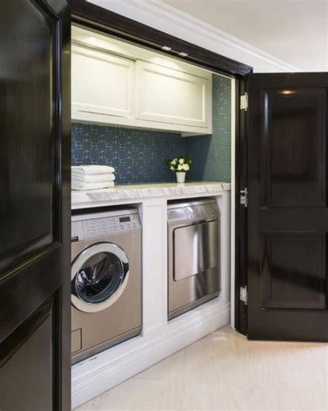 concealed laundry room design decor photos pictures hidden organized laundry rooms