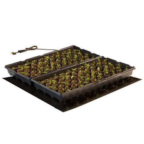 hydrofarm mt10008 45w seedling heat mat 20x20 in