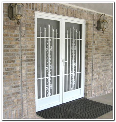 French Doors Exterior Full Image For Outdoor Mats For Exterior Security Door