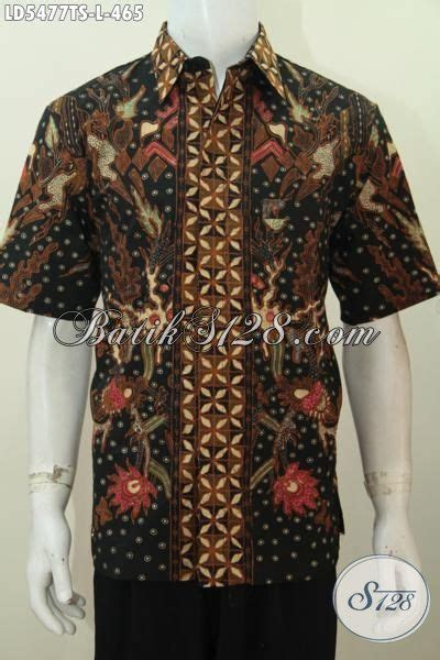 Kemeja Batik Pria Terbaru Lengan Panjang Mewah Elegan kemeja batik elegan motif mewah baju batik modern warna