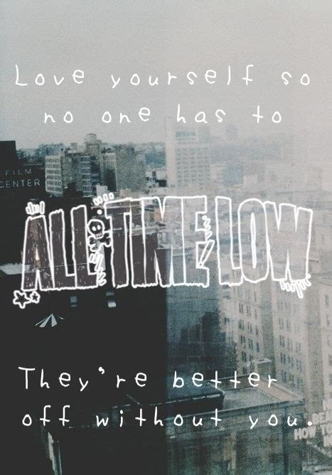 all time low therapy with lyrics quote lyrics all time low barakat alex gaskarth rian