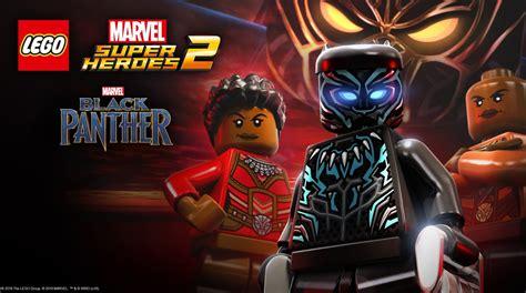Lego 174 Marvel Super Heroes 2 Black Panther Dlc Trailer   black panther sort les griffes dans lego marvel super