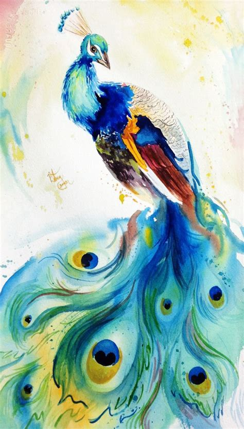 original watercolor painting peacock painting peacock image from http bcartstudios com wp content uploads 2014