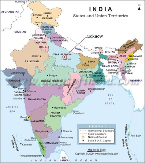 Lucknow India Map by Indian Institute Of Management Lucknow Alumni Association