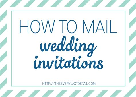 Wedding Invitations Mailed For You by Mailing Wedding Invitations Every Last Detail