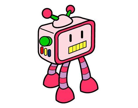imagenes de goku robot dibujo de robot televisivo pintado por daaf en dibujos net