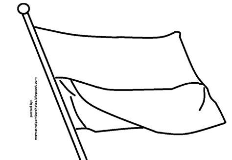 bendera merah putih vocal anak anak mewarnai gambar mewarnai gambar sketsa bendera merah putih 7